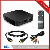 2014 Cheapest hotsell android tv box with hd dvb-t combo