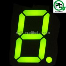 Large led digital number display 20''/20 inch Super Bright Green single digit display