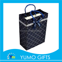 handmade custom best quality creative hand bag, clothes gift shopping bag ideas, packing paper gift bag with ropes handle