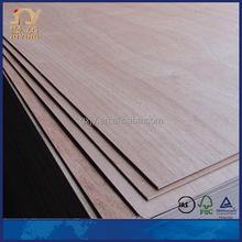 Okoume faced door skin plywood