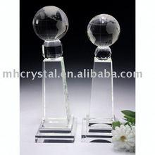 crystal globe blank awards