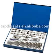 60pc ALLOY STEEL COMBINATION TAP& DIE SET
