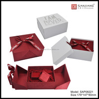 2015 new design jewelry & chocolate gift box for valentine's day