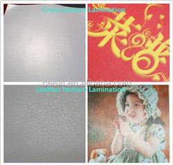 Matte and Glossy pvc roll cold cold lamination film for indoor & outdoor advertising material