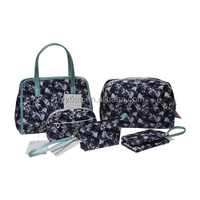 New design 600D polyester cosmetic bag,promotional cosmetic bag