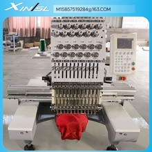 XSL1201 single head high speed cap embroidery machine CE Certification computerised embroidery