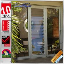 Australia AS2047 standard decorative folding exterior aluminium shutters