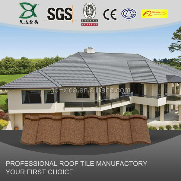 Cheap aluminum zinc plated metal and roofing sheet stone for Cheapest roof to build