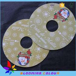 china custom made high quality christmas tag , christmas cards