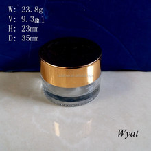 empty 10ml glass cosmetic cream jars for packaging SLJd31