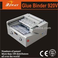 19 Year Boway 920v hot melt glue Office desk top perfect binder