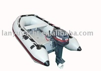 inflatable aluminum floor boat