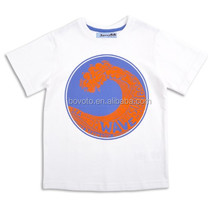 fashion white t-shirts boys kids t-shirt design kids super soft cotton t-shirts