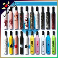 Promotional Wholesale Wine Bottle Umbrella,Folding Umbrella With Bottle