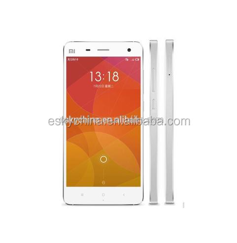 Hot Original XIAOMI MI4 M4 Android telefone celular Qualcomm Snapdragon 5.0