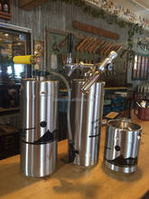Wholesale steel 2l mini beer keg 5l