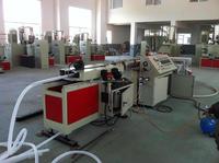 PE/PP/PA/PVC Single Wall Corrugated Pipe Production Line