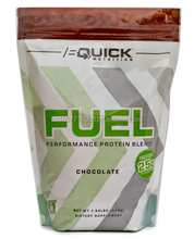 BQuick Nutrition FUEL Chocolate 2lb Bag Protein Powder Blend