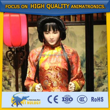 Cetnology High-tech Animated Simulation Ancient Chinese woman robot for performance