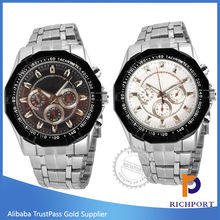 Hot sale original Japan movement stainless steel branded watch