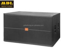MDL 2015 Hot sale 18 inch 1200watt SRX728 dual 18 inch speaker bass