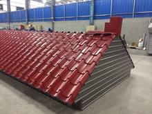 color steel corrugated roofing tiles