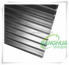 10 year guaranteen two wall brown polycarboante sheet and polycarbonate hollow sheet