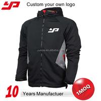 New custom design casual outdoor wear winter waterproof man windbreaker jacket with bag