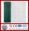 Best quality green PVC holland wire mesh/PVC wire mesh,green residential holland wire mesh,welded wave type euro wire mesh