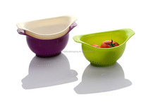 cute plastic droping baske tbasket for kitchen droping basket