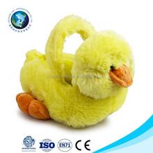 Custom design plush easter toy soft easter basket popular plush easter egg basket for kids