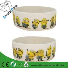 "Collectable Wristband - 1"" Silicone Bracelet - Despicable Me 2 - Minions"