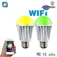 WiFi tristar 5w rgb dmx mr16 led lamp play by SmartPhone