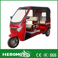 New design electric tricycle with passenger seat for sale