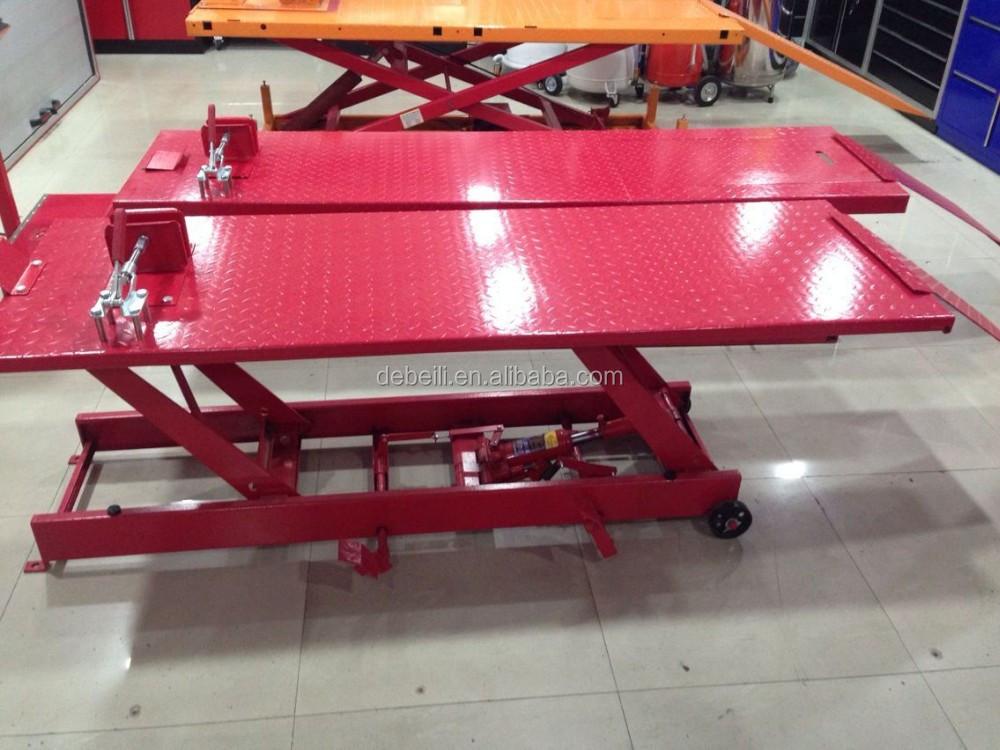 Atelier utiliser acier table l vatrice moto table for Table elevatrice moto