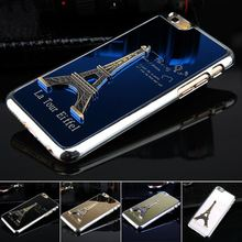 Metal Phone Cases for iphone 6 4.7 inch Hot Luxury Eiffel Tower Model Protective phone Back Housing Low Price