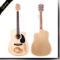 Finlay FS-4101KC 41 inch china factory price unusual unique design electric acoustic guitar