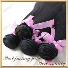 Unprocessed cheap 100% brazilian sew in human hair weave