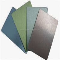 lightweight exterior wall panel building material/aluminum laminated material/brushed acp