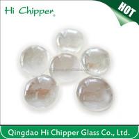 Decoration clear glass gem shape stone for building