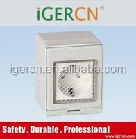 outdoor IP65 waterproof wall socket and switch,Weather protection protected wall switch and socket(IP55)