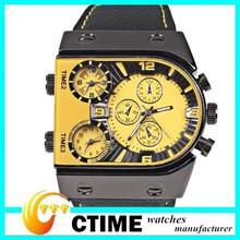 Shenzhen Factory CTIME Direct Supply Top Wristwatches Men Big Watch Quartz
