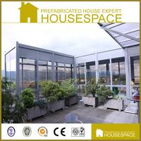 Economical Fireproofed Prefabricated Aluminium Structure House