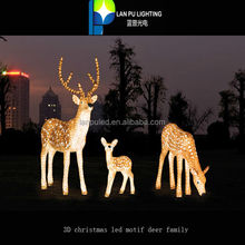 Christmas New Year Fabulous Sika Deer Outdoor Holiday High Power LED Decoration Light