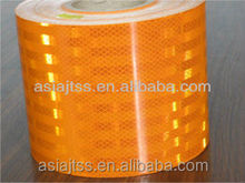 The competective yellow reflective tape 3cm~7cm width