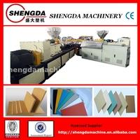 Celuka kitchen cabinets pvc foam board production line