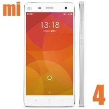 "Original Xiaomi Mi4 Snapdragon 801 Quad Core 5"" FHD OGS Gorilla Glass SmartPhone 3GB RAM 16GB ROM Back 13MP Camera GPS WCDMA"