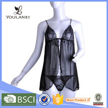 Hot Sell Chinese Style Mature Women Lingerie Sexy