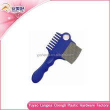 Long handle amphibious lice comb