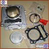high precision and good quality for SUZUKI QINGQI motorcycle white color DR200 cylinder kit